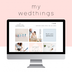 my wedthings web
